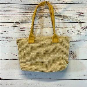 The SAK Creme Colored Purse Bag